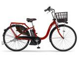 24型 電動アシスト自転車 PAS With(ビビッドレッド/内装3段変速) 18PA24W【2018年モデル】