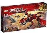 LEGO(レゴ) 70653 伝説のエレメント・ドラゴン:メリュジーナ