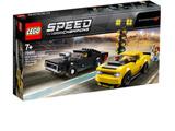 LEGO(レゴ) 75893 スピードチャンピオン 2018 ダッジ・チャレンジャー SRT デーモンと 1970 ダッジ・チャージャー R/T