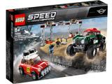 LEGO(レゴ) 75894 スピードチャンピオン 1967 ミニクーパー S ラリーと 2018 ミニ・ジョン・クーパー・ワークス・バギー