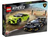 76899 スピードチャンピオン ランボルギーニ ウルスST-X & ウラカン・スーパートロフェオ EVO