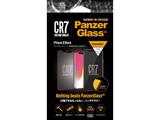 PanzerGlass(パンザグラス) iPhoneX Black CR7ロゴ 衝撃吸収 全画面保護 ラウンドエッジ ダブル強化ガラス 4層構造