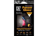 PanzerGlass(パンザグラス) iPhone 6/6s/7/8 CR7ロゴ 衝撃吸収 平面保護 ラウンドエッジ ダブル強化ガラス 4層構造