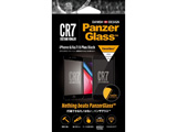PanzerGlass(パンザグラス) iPhone 6/6s/7/8 Plus Jet Black CR7ロゴ 衝撃吸収 全画面保護 ラウンドエッジ ダブル強化ガラス 4層構造