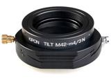 マウントアダプター TILT M42-M4/3【ボディ側:マイクロフォーサーズ/レンズ側:M42】