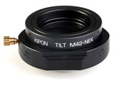 マウントアダプター TILT M42-NEX【ボディ側:ソニーE/レンズ側:M42】