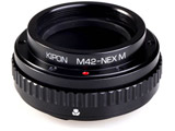 マウントアダプター M42-NEX M【ボディ側:ソニーE/レンズ側:M42】