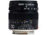 IBERIT 50mm/f2.4 ブラック [ライカMマウント] 標準レンズ(MFレンズ)
