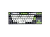 ゲーミングキーボード+マウスパッド Panda VA92 Cherry mx シルバー軸  vm-va92-llpandj-silver [USB /有線]