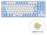 ゲーミングキーボード Sea Melody デイジー軸  vm-ma92-wbpe7hj-daisy [USB /有線]