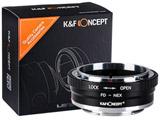 レンズマウントアダプター KF-FDE2 (ボディ側:ソニーE、レンズ側:キヤノンFD)絞りリング付 KF-FDE2