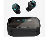 フルワイヤレスイヤホン  ブラック WintoryDual2 [リモコン・マイク対応 /ワイヤレス(左右分離) /Bluetooth]