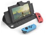 Nintendo Switch用OJO Explorerレザーケース ブラック [CAE01-0]