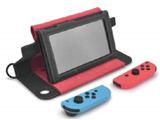 Nintendo Switch用OJO Explorerレザーケース レッド [CAE02-2]