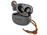 フルワイヤレスイヤホン SUDIO(スーディオ) グレー・カッパー TOLV-Copper [リモコン・マイク対応 /ワイヤレス(左右分離) /Bluetooth]