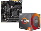 Ryzen 5 3600X BOX品 + TUF B450M-PLUS GAMING セット