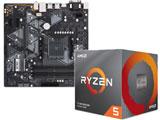 Ryzen 5 3600X BOX品 + PRIME B450M-A セット