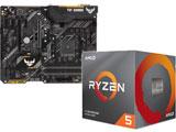 Ryzen 5 3600X BOX品 + TUF B450-PLUS GAMING セット