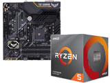Ryzen 5 3600X BOX品 + TUF B450M-PRO GAMING セット