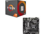 AMD Ryzen 7 2700X BOX品 + ASRock B450M Pro4 セット