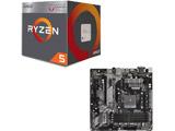 AMD Ryzen 5 2400G BOX品 + ASRock B450M Pro4 セット