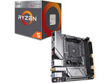 AMD Ryzen 5 2400G BOX品 +  GIGABYTE  B450 I AORUS PRO WIFI セット