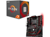 AMD Ryzen 7 2700X BOX品 + MSI X470 GAMING PLUS セット
