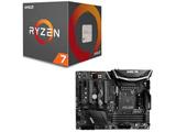 AMD Ryzen 7 2700X BOX品 + MSI X470 GAMING PRO CARBON セット