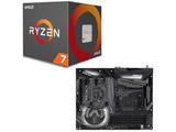 AMD Ryzen 7 2700X BOX品 + ASRock X470 TAICHI セット