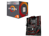 AMD Ryzen 5 2400G BOX品 + MSI X470 GAMING PLUS セット