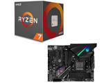 AMD Ryzen 7 2700X BOX品 + ASUS ROG STRIX X470-F GAMING セット