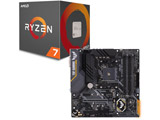 AMD Ryzen 7 2700X BOX品 + ASUS TUF B450M-PRO GAMING セット