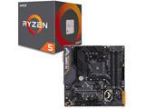 AMD Ryzen 5 2600 BOX品 + ASUS TUF B450M-PRO GAMING セット