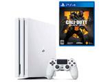 【期間限定キャンペーン】 「PlayStation4 Pro グレイシャー・ホワイト 1TB」+「CALL OF DUTY BLACK OPS 4」同時購入セット