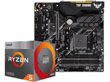 Ryzen 5 3400G BOX品 + TUF B450M-PLUS GAMING セット