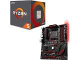 AMD Ryzen 5 2600 BOX品 + MSI X470 GAMING PLUS セット