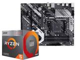 Ryzen 5 3400G BOX品 + PRIME X570-P/CSM セット