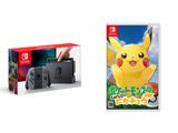 【3000円クーポン対象】 Nintendo Switch Joy-Con(L)/(R) グレー + ポケットモンスター Let's Go! ピカチュウ 通常版