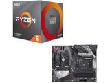 Ryzen 5 3600X BOX品 + B450 AORUS PRO WIFI セット