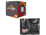 AMD Ryzen 5 2600X BOX品 + GIGABYTE X470 AORUS ULTRA GAMING セット