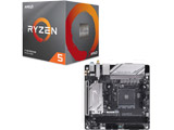 Ryzen 5 3600X BOX品 + B450 I AORUS PRO WIFI セット