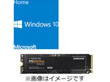ファイナルパソコン引越し Win10特別版ライセンスキー付き DSP版 Windows 10 Home 64bit(日本語版/新規インストール用) + SAMSUNG SSD 970 EVO Plus MZ-V7S500B/IT (SSD/M.2 2280/500GB)