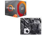 Ryzen 7 3800X BOX品 + PRIME X570-P/CSM セット
