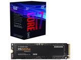 Core i7-8700 + SSD 970 EVO Plus MZ-V7S250B/IT (M.2 2280/250GB)