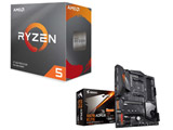AMD Ryzen 5 3600 BOX品 + GIGABYTE X570 AORUS ELITE セット