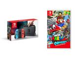 【3000円クーポン対象】 Nintendo Switch Joy-Con(L) ネオンブルー/(R) ネオンレッド + スーパーマリオ オデッセイ
