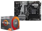 Ryzen 5 3400G BOX品 + B450 Pro4 セット