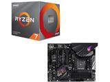 Ryzen 7 3700X BOX品 + ROG STRIX B450-F GAMING