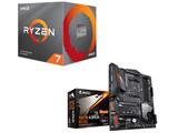Ryzen 7 3700X BOX品 + X570 AORUS ELITE