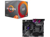 Ryzen 7 3700X BOX品 + ROG STRIX X570-E GAMING